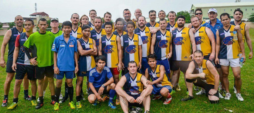 Australian Football Team - Cambodian Eagles
